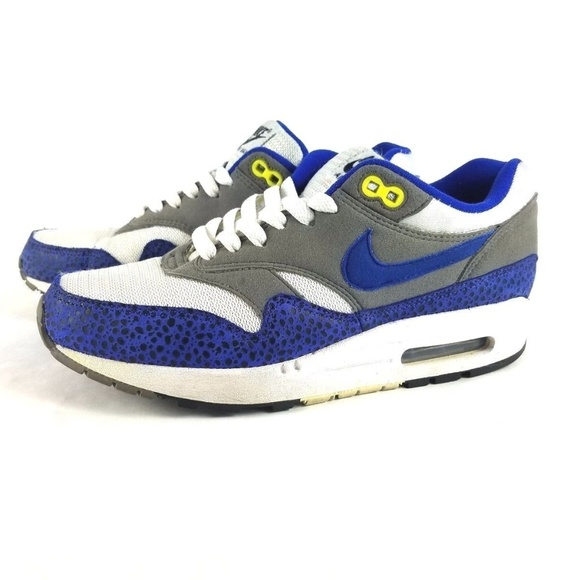 on sale 25197 b050b ... best price nike air max 1 safari hyper blue running shoes af553 755ea